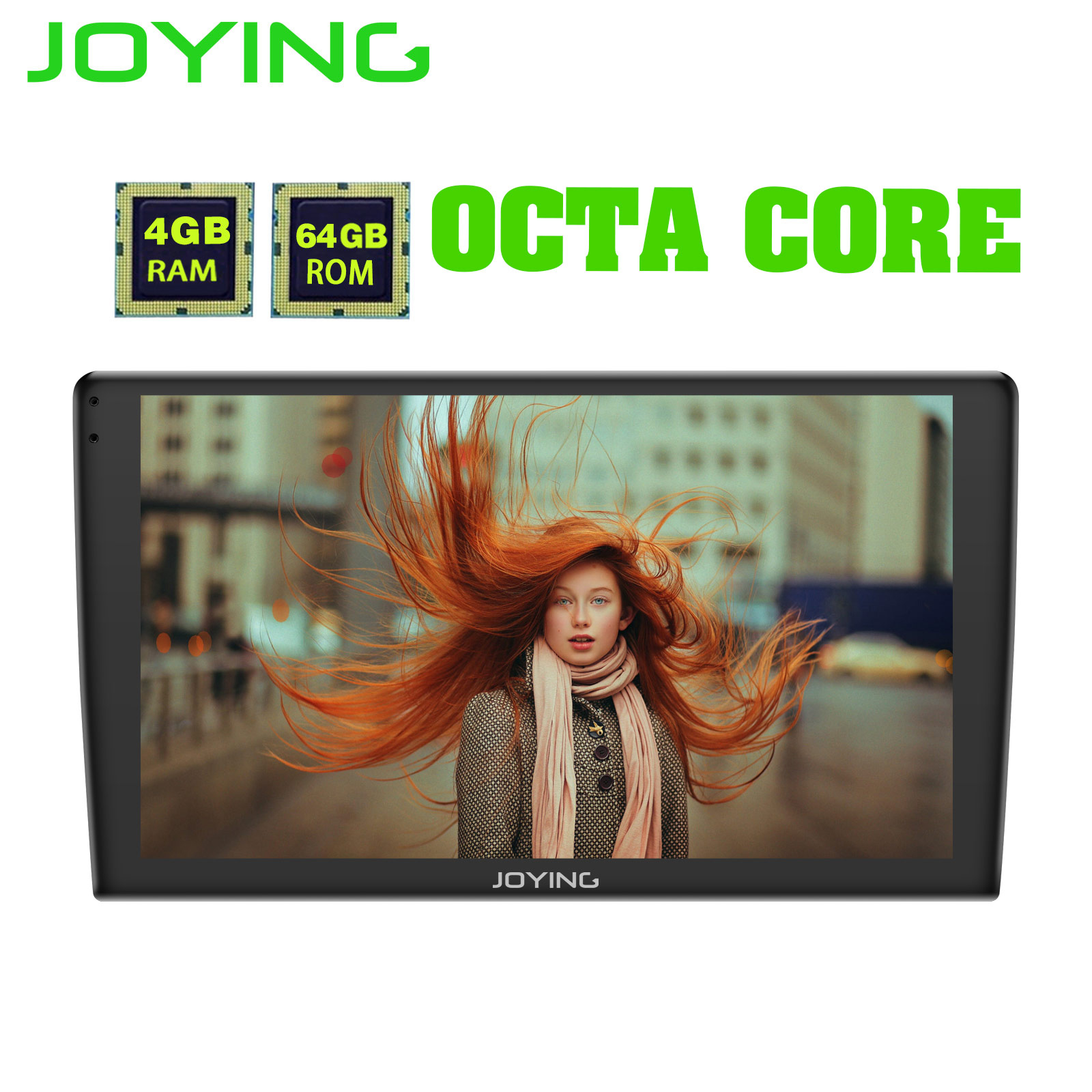 JOYING 9 2 5D IPS 1 din 4 64GB Android 8 1 car radio player stereo