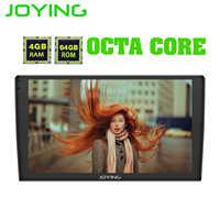 "JOYING 9 ""2.5D IPS 1 din 4 + 64GB Android 8.1 เครื่องเล่นวิทยุสเตอริโอ head unit สนับสนุน 4G/แยก/Fast Boot/Android auto"