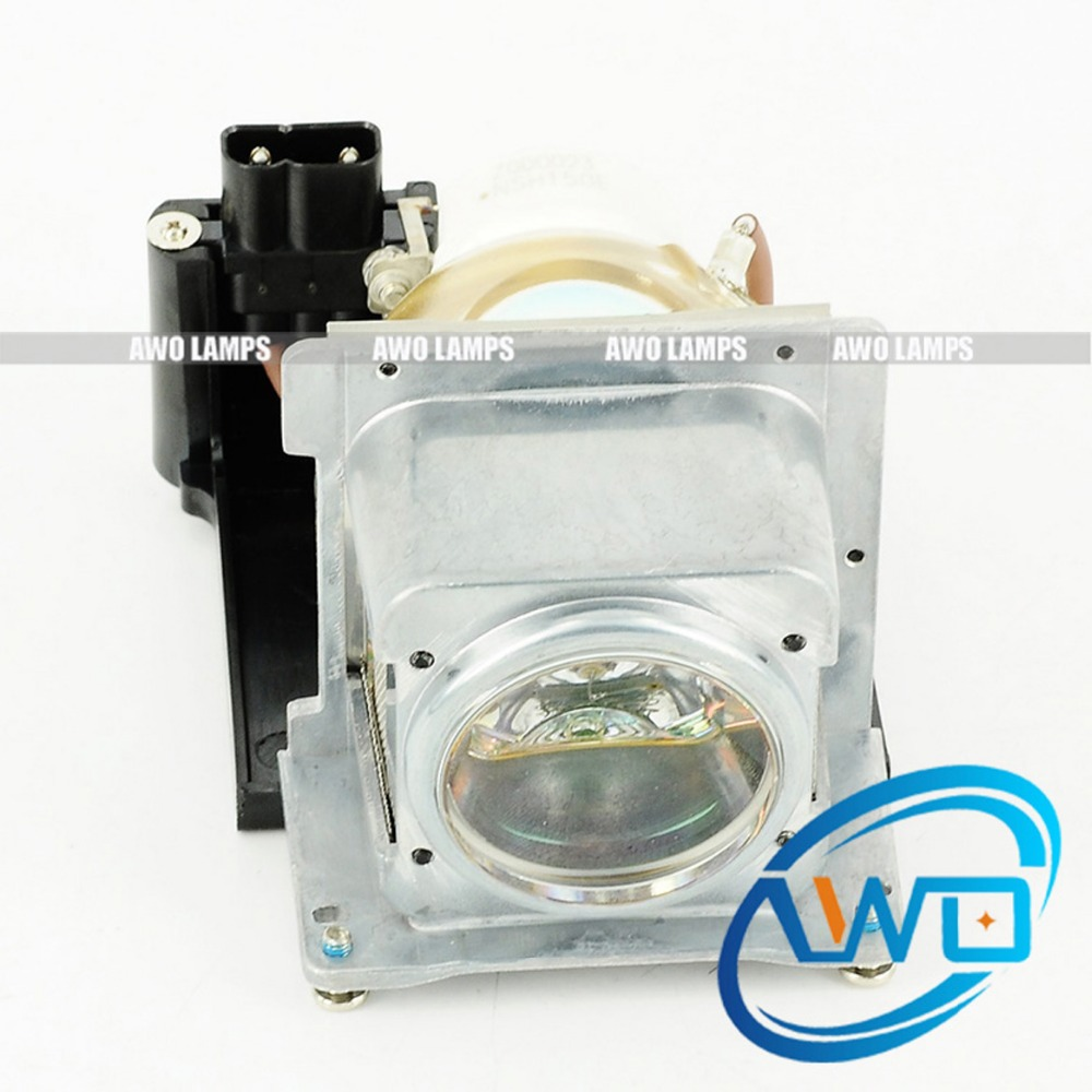 AWO Original Projector Lamp Inside RLC-019/RLC019 with Housing for VIEWSONIC PJ678 150 Day Warranty awo projector lamp sp lamp 005 compatible module for infocus lp240 proxima dp2000s ask c40 150 day warranty