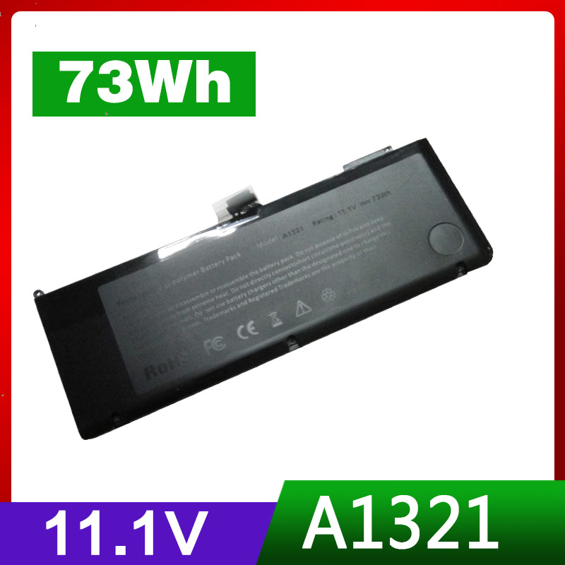 11.1V 73Wh Replacement Battery For Apple A1321 For MacBook Pro 15 MB985CH/A MC118J/A  MB986J/A MB986ZP/A    11.1V 73Wh Replacement Battery For Apple A1321 For MacBook Pro 15 MB985CH/A MC118J/A  MB986J/A MB986ZP/A