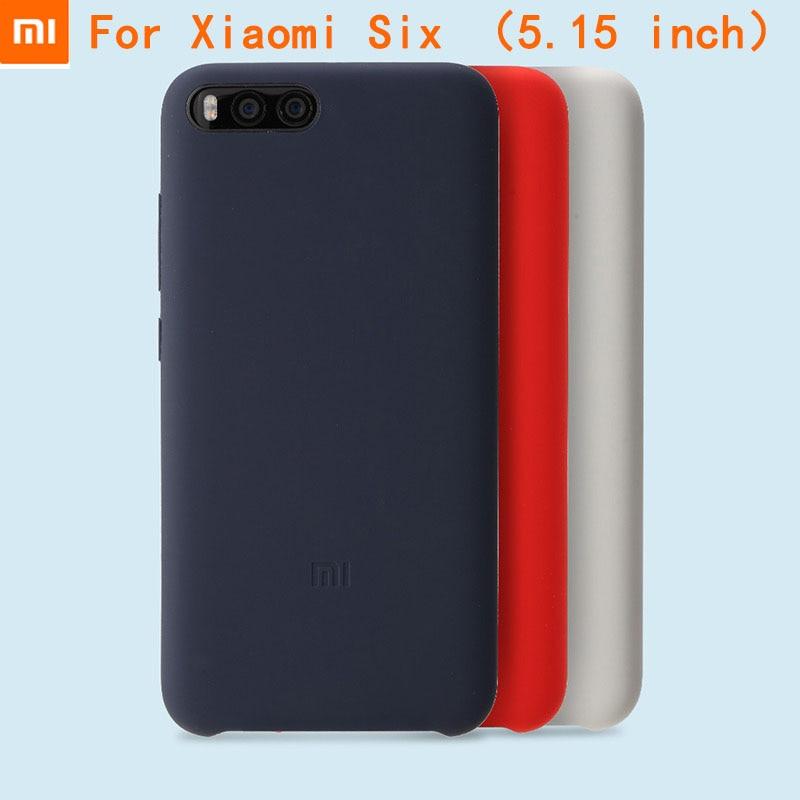 bilder für 100% neue original xiaomi mi6 silikon case für xiaomi mi6 flip case abdeckung case protector case für xiaomi mi 6 abdeckung einzelhandel box