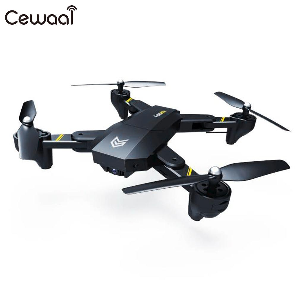 Portable Mini RC Quadcopter Foldable Aircraft FPV Drone WIFI Camera Helicopter Headless Mode Auto Hovering Gift кружка printio banana split
