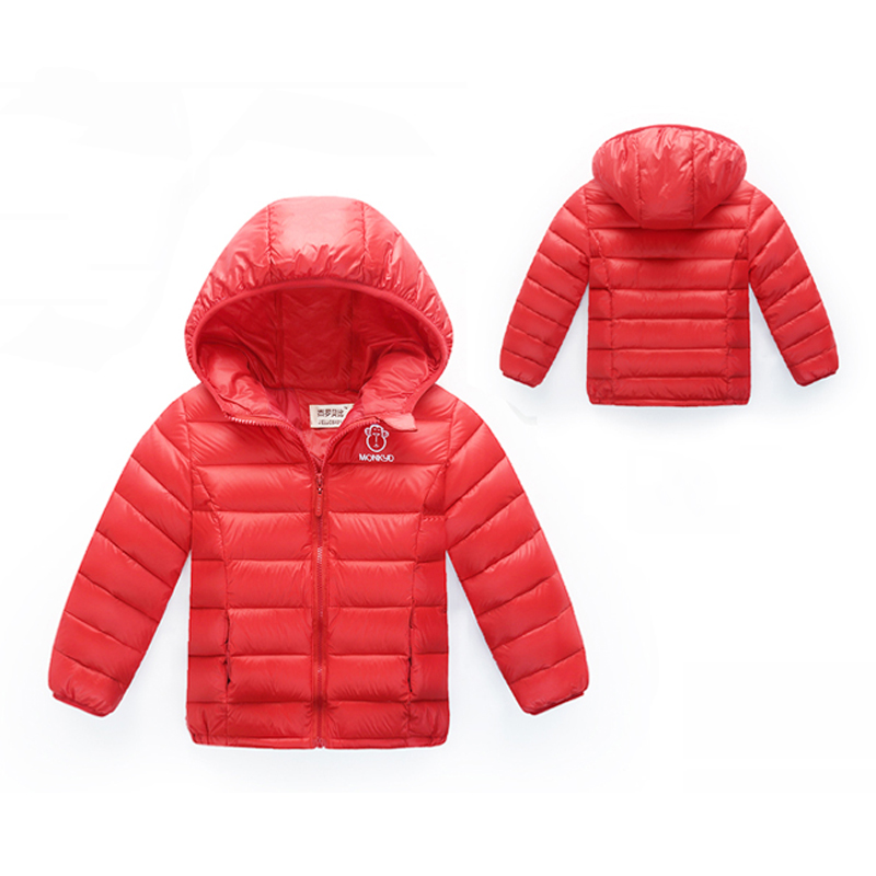 0 24M High quality 2016 new winter clothes kids outerwear baby girls parkas fashion Snow Wear