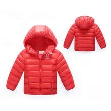 0-24 М Высокое качество 2016 новой зимней одежды дети верхняя одежда новорожденных девочек парки мода Снег Одежда babys Толстовки одежда горячая продажа