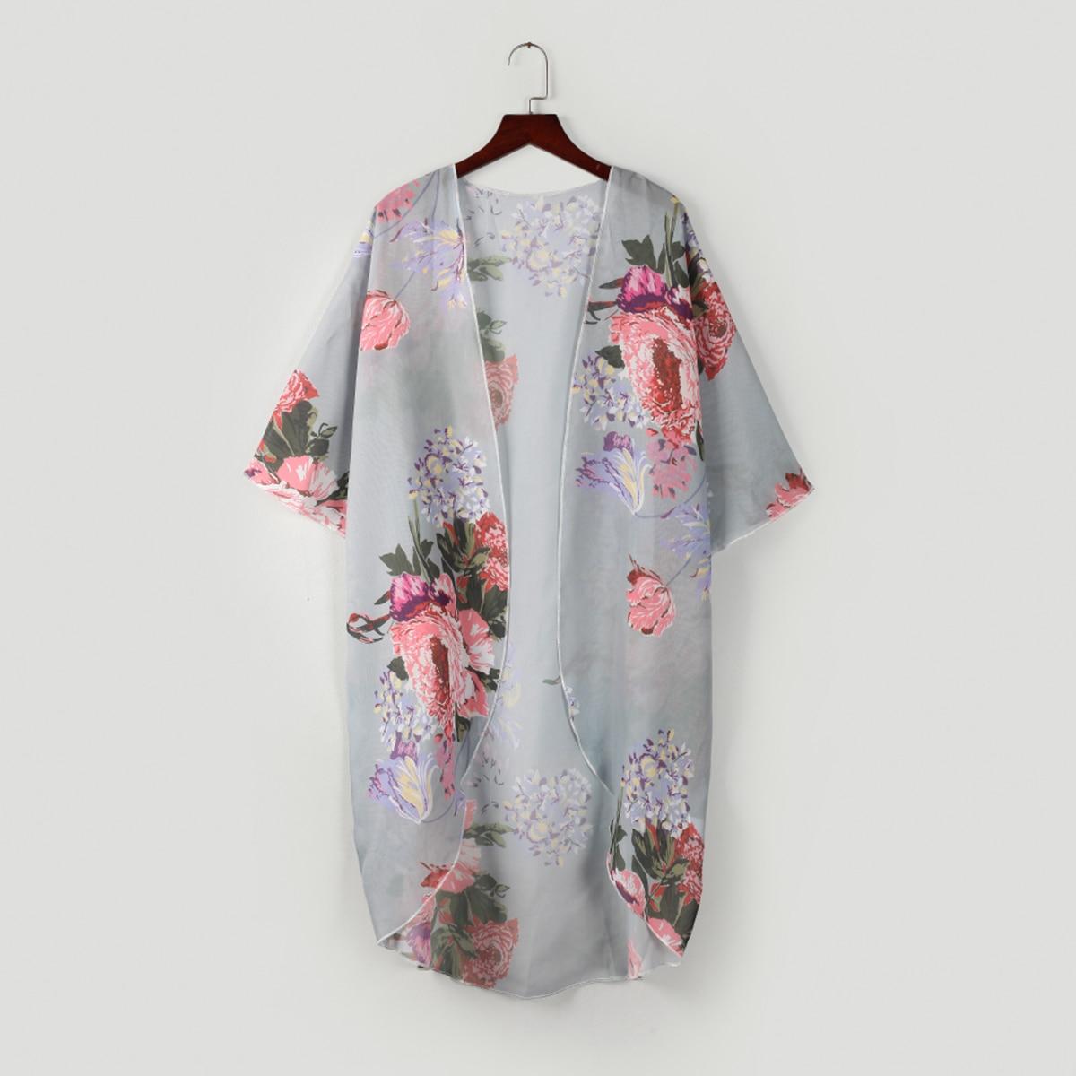 Women/'s Sleeveless Floral Lace Vest Cardigan Kimono Open Front Top S-4XL
