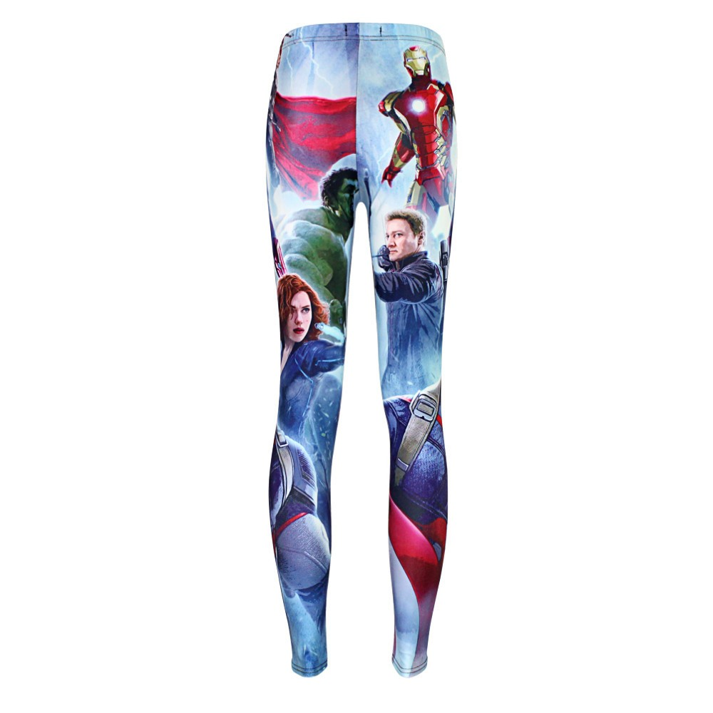 The Avengers Captain America Leggings