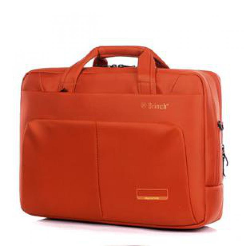 Waterproof Nylon One Shoulder Laptop Bag Shockproof Laptop Cover Business Casual Briefcase Handbag 15.6 inch for Men and Women