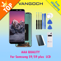 100 Original Super Amoled LCD Screen For Samsung Galaxy S9 S9 Plus S9 Display G9650 Assembly