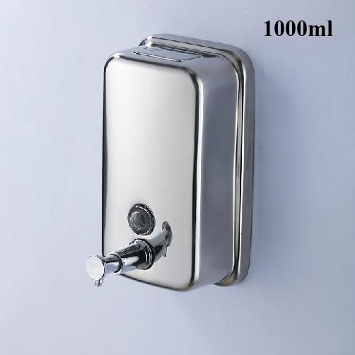 Liquid Soap Dispensers 1000ML Wall Mounted Stainless Steel Soap Dispenser Washroom Kitchen Bathroom Shower Dispenser Z-1000ml acer liquid jade z