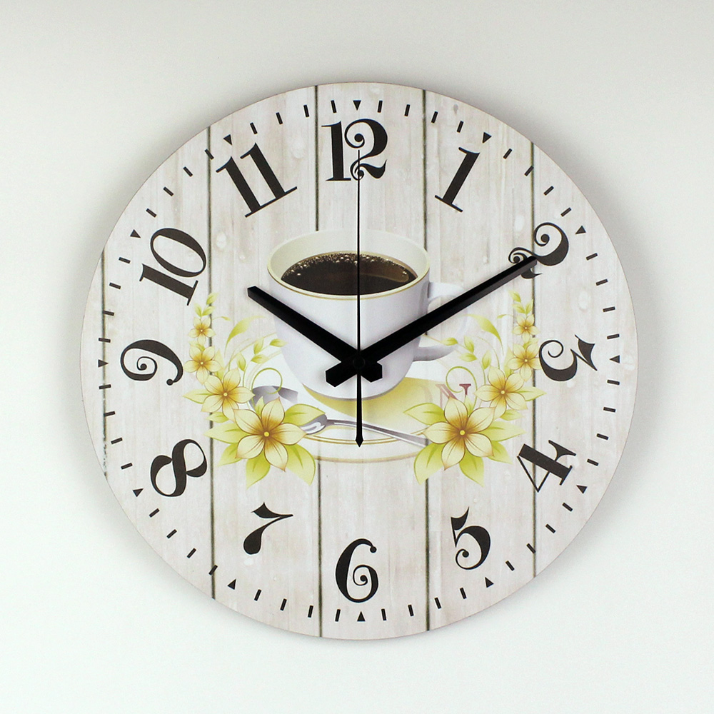 Modern Kitchen Wall Clock Creative Design Warranty 3 Years