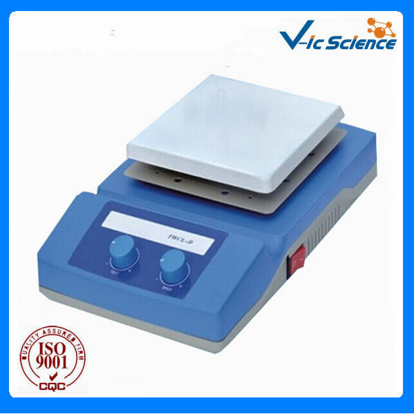 TWCL-B 230x230mm Temperature adjustable laboratory hot plate stirrer for lab instrument 14 5 11 2