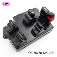 YAOPEI New 4 Door Power Main Glass Switch Window Control Switch For Honda Accord 94-97 Car Casement Lifter Switch 35750-SV1-A01