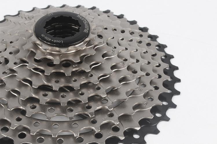 Cycling Sunshine Mtb Bike 9 Speed 11-40t Cassette Flywheel Black Fit Shimano Sram Hg200