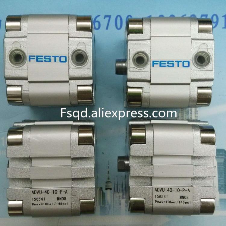 цена на ADVU-40-5-P-A ADVU-40-10-P-A ADVU-40-15-P-A ADVU-40-20-P-A FESTO Compressed air cylinder