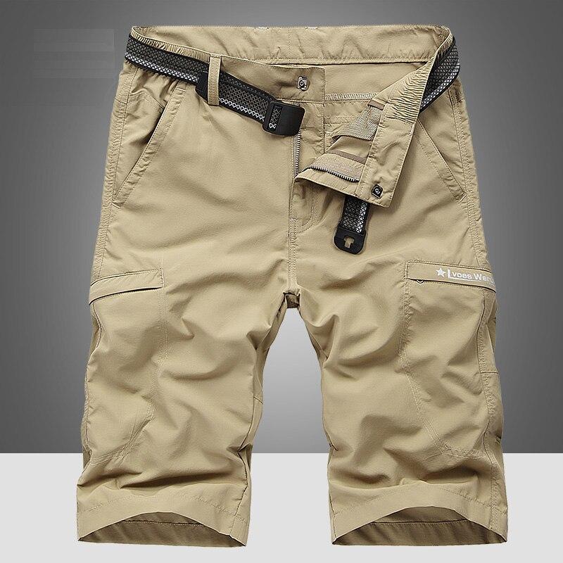 IFRICH Shorts Men Mens Moda Casual Calças Curtas Masculino 2019 Impressão Verão Respirável Bermudas Masculina Streetwear Plus Size 4XL
