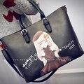 Леди стиль сумки принцесса искусственная кожа композитный женщин сумки женские тотализатор кроссбоди сумки бесплатная доставка