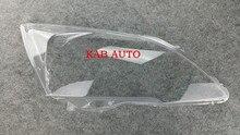Farol dianteiro de vidro transparente abajur abajur PC Anti rachaduras para Honda CRV 07-11 2 pcs