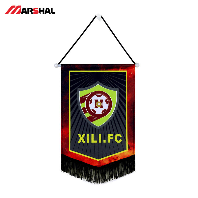 US $89 9 |Soccer team Hanging flag top quality custom your own unique  colorful football Hanging flag-in Soccers from Sports & Entertainment on