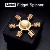 Hot New Diy Metal Fidget Spinner Anti Stress Sensory Hand Spinner High Quality Adult Toys Fidget