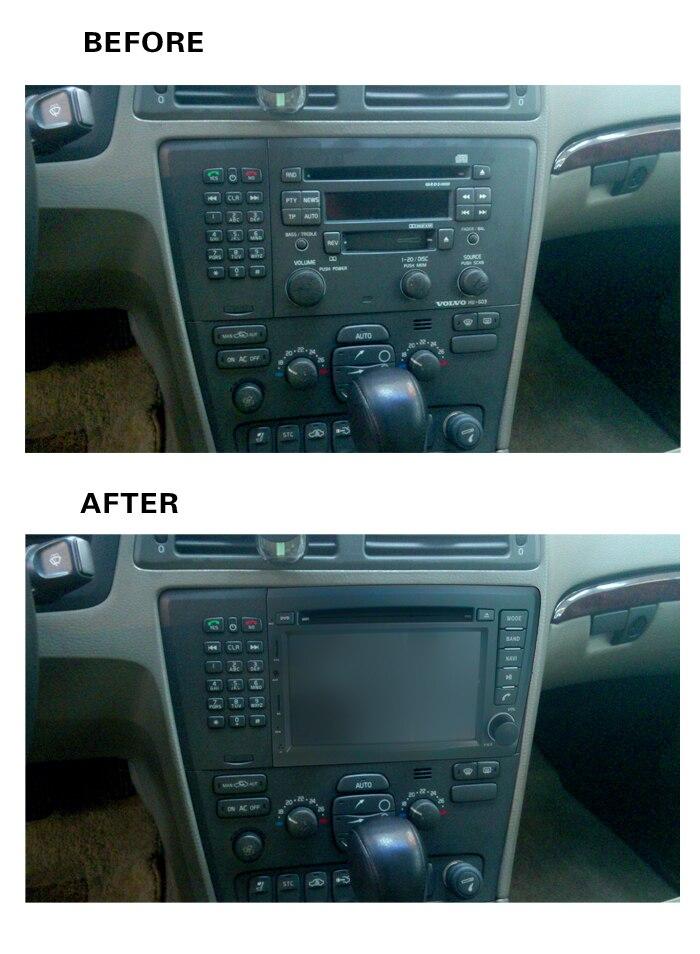 2018 8 4g LTE Android 8.1 Voiture DVD PC Multimédia Lecteur DVD GPS Navi Stéréo Radio Fit VOLVO s60 V70 XC70 2000 2001 2002 2003 2004