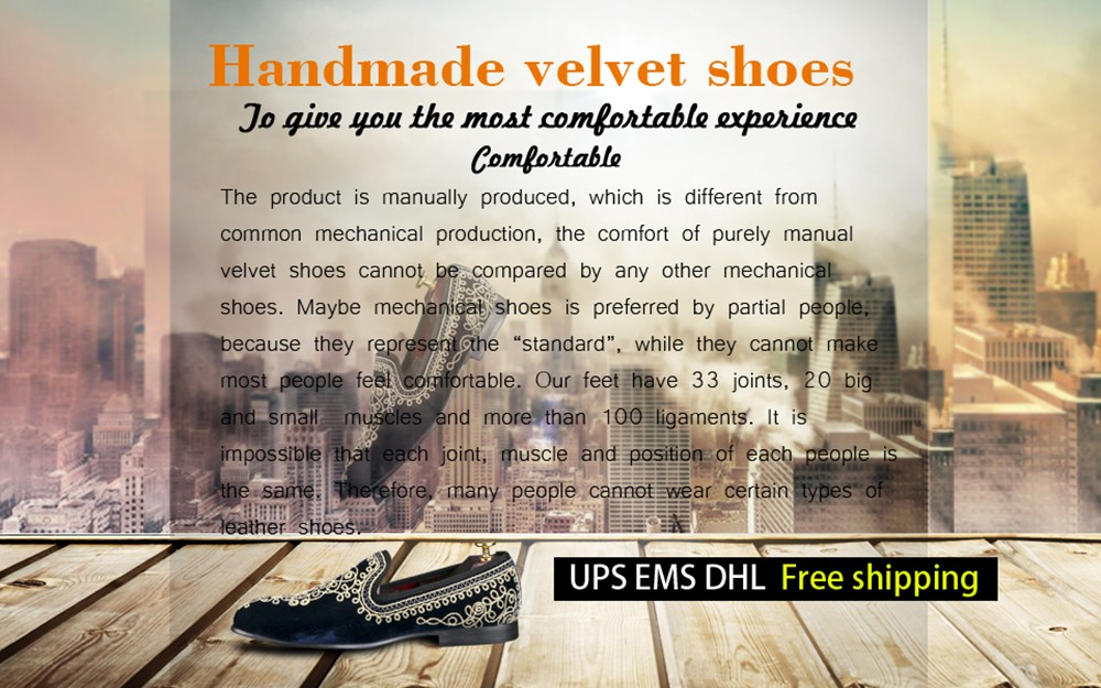 New fashion men party and wedding handmade loafers men velvet shoes with PP  tiger and gold buckle men dress shoe men s flats-in Formal Shoes from Shoes 3697b6621441