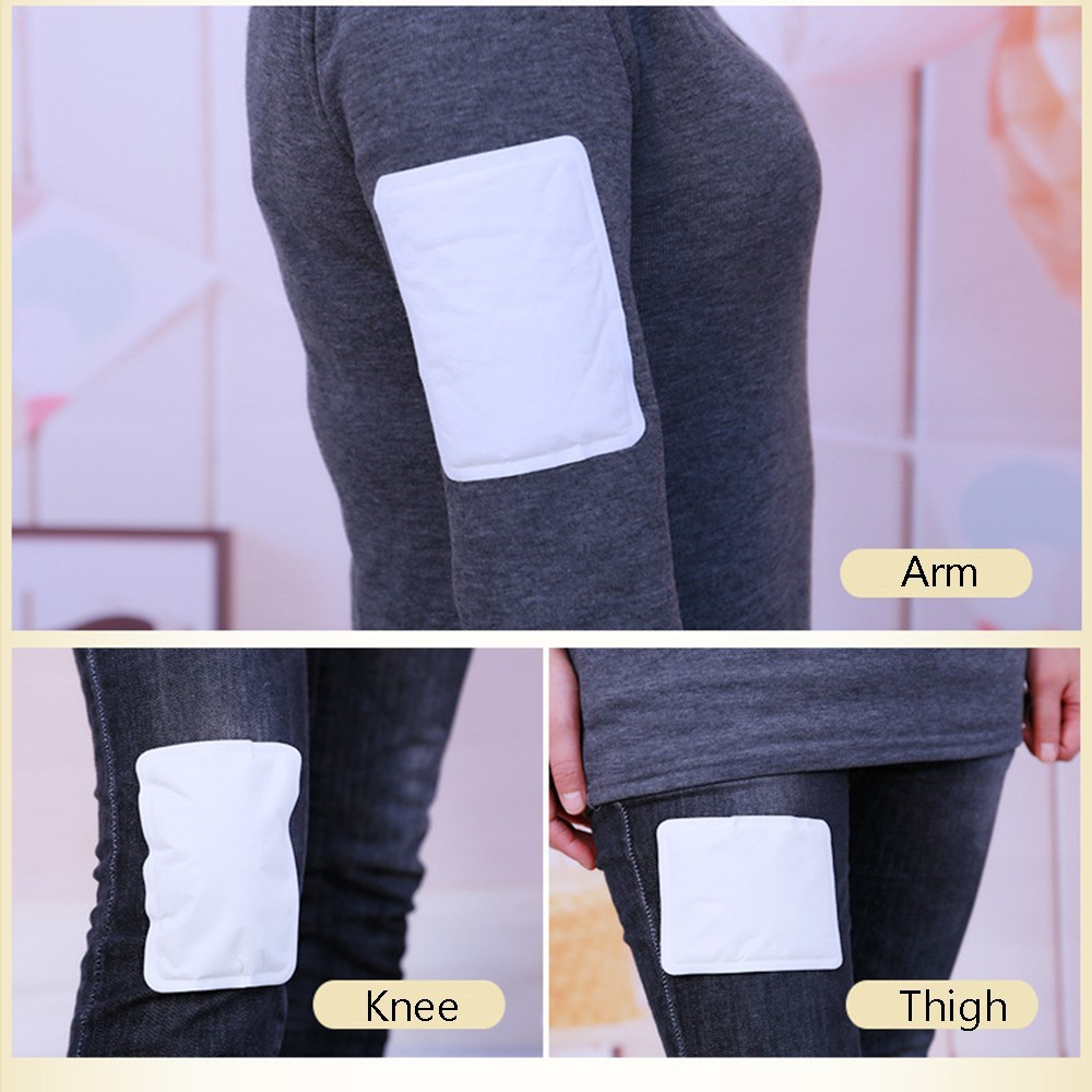 Body Warmer Stick 1 Packs Body Heat Warmer Stick Lasting Heat Patch Keep Hand Leg Foot Warm Paste Pads For Camping Outdoor Warm