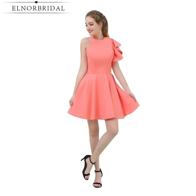 Royal Blue High Low Brautjungfer Kleider 2019 Robe Demoiselle Dhonneur V Neck Kleid Für Hochzeit Party Vestidos De Fiesta De Noche Weddings & Events