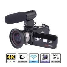 Оригинальная Экшн-камера Ultra HD 4K WiFi Пульт дистанционного управления спортивная видеокамера DVR DV Go Водонепроницаемая профессиональная камера