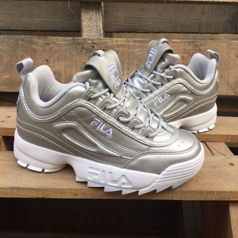 New arrival of FILA in 2018 new men's running shoes summer outdoor new bright silver rakesh kumar production potential of summer mungbean cultivars in india
