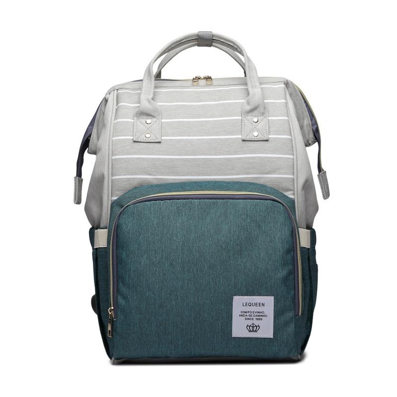 HTB1B2V6bELrK1Rjy1zbq6AenFXaW Maternity Bag Waterproof Diaper Backpack for Mom Nappy Bags Large Capacity Baby Bag Travel Mummy bag Designer Nursing Bag