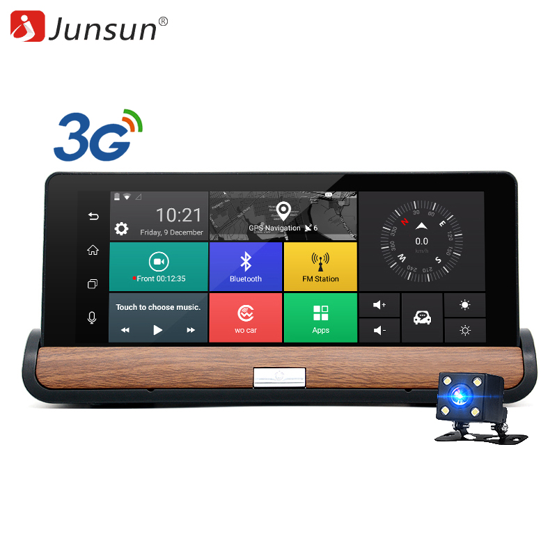 Junsun 3G 7 Inch Car DVR GPS Navigation Android 5.0