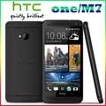 M7 Разблокирована Оригинальный HTC One M7 801e 32 ГБ Android 4 Г смартфон Quad core сенсорный серебро/черный Один Йеай Гарантия