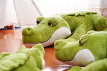 60cm/90cm/120cm Crocodile Lying Plush Pillow Toys Crocodile Soft Stuffed Animal Cartoon Plush Dolls Kids Gift Elf on A Shelf