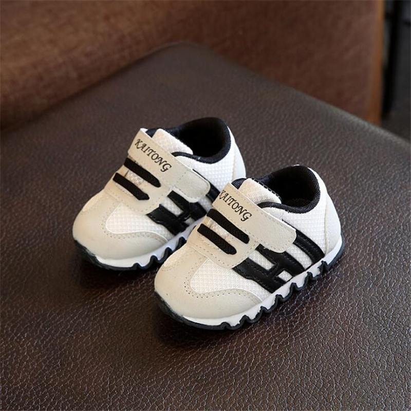 Spring Autumn Baby Girls Boys Casual Sport Shoes Pachwork Mesh Toddler Shoes Breathable Shoes 3color 16-20 K111 TX09