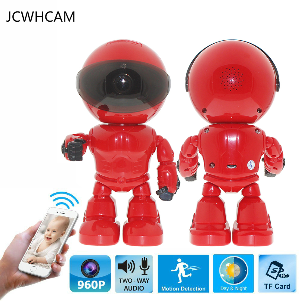 JCWHCAM HD Wireless Robot IP Camera 960P Security Camera 1.3MP CMOS Baby Monitor Pan Remote Home Security P2P IR Night Vision handle bar brush handguards hand guard for ktm crf yzf kxf motorcycle motocross dirt bike 7 8 22mm or 1 1 8 28mm fat bar