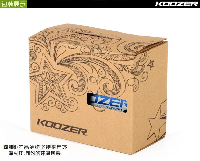 KOOZER PD50 Pedals CNC Flat Mountain Bike Pedal TR XC AM FR DH 3 Bearings Pedal