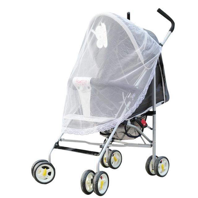 Newborn Baby Stroller Mosquito Net Infant Pushchair Car Mosquito Insect Net Shield Kids Cars Seat Carriage Protection Mesh Cover