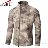 Lurker Shark Skin Soft Shell V4 Military Tactical Jacket Men Waterproof Windproof Warm Coat Camouflage Camo