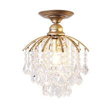 Creative Simple Crystal Roof Suction  Modern Ceiling Light Kids Room Led Home Lighting Lamps For Living Room Ceiling Lamp t simple crystal fashion pendant light for dinging room home indoor lighting modern creative led chip lamps bar coffee shop