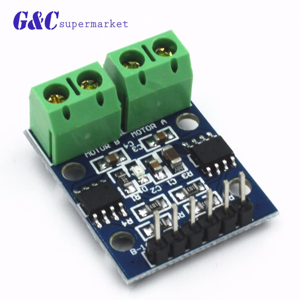 Integrated Circuits Dual H Bridge Dc Motor Driver Controller Board Driving Circuit Motorcontrol Controlcircuit Hg7881 For Arduino Hg7881cp In From Electronic Components Supplies