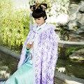 Многоцветный Phoneix хвост схема хлопка-ватник меховой воротник костюм мантиссы плащ женский костюм плащ