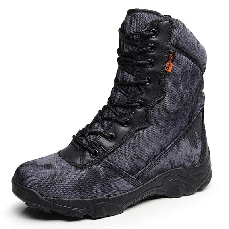 Travail Militaire En Combat Black De Safty Bottines Chaussures Hiver Imperméables Automne Cuir Armée Bottes Tactique Hommes yellow Désert PBgSHdd