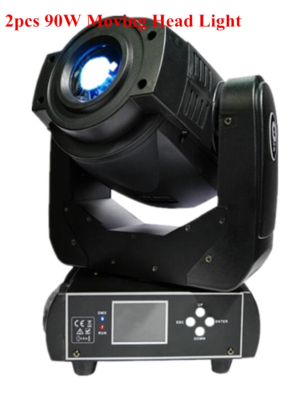 Hot sale!90W Gobo LED Moving Head Light 3 Face Prism DMX Controller 6/16 Channel for Stage Theater Disco Nightclub Party/SX-MH90 niugul dmx stage light mini 10w led spot moving head light led patterns lamp dj disco lighting 10w led gobo lights chandelier