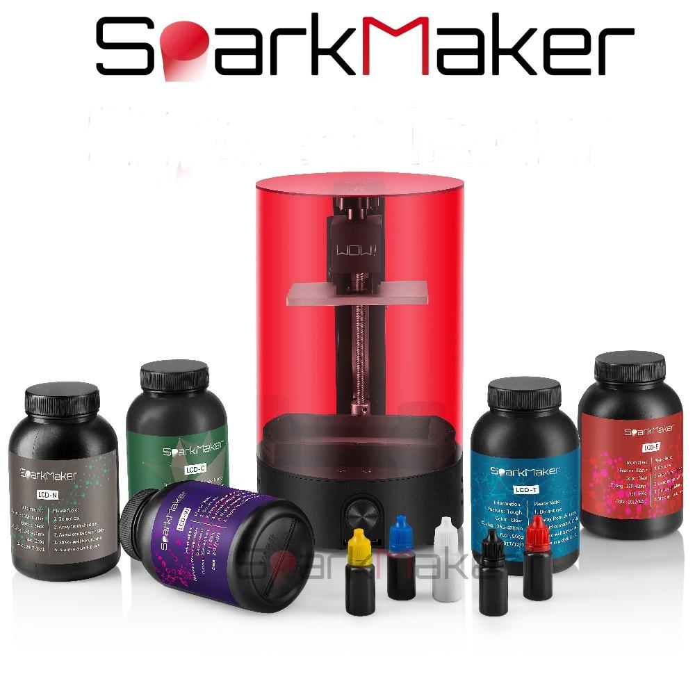 Sparkmaker DLP/LCD/SLA Résine UV Curable 3d Imprimante pour bijoux