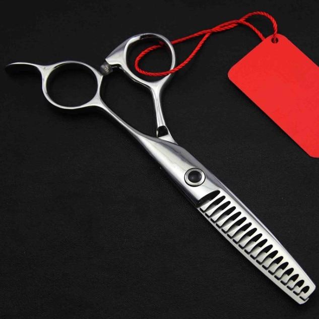 professionnel 5,5 pouces 440c 8 & 14 & 18 dents cisailles - Soin des cheveux et coiffage - Photo 2