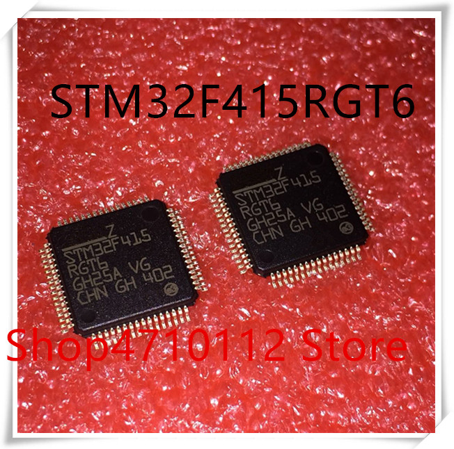 NEW 5PCS LOT STM32F415RGT6 STM32F415 RGT6 LQFP 64 IC