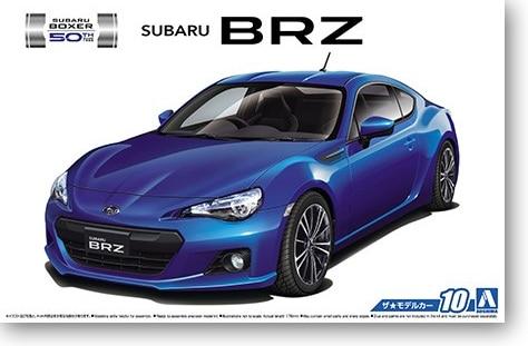 1/24 Subaru ZC6 BRZ '12 Car Model 05161 туринг 1 10 rs4 sport 3 drift subaru brz