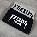 2016 Kanye west YEEZY Yeezus and YEEZUS Tour yeezy Merch new printing black white gray red blue cotton t-shirt t shirt tee