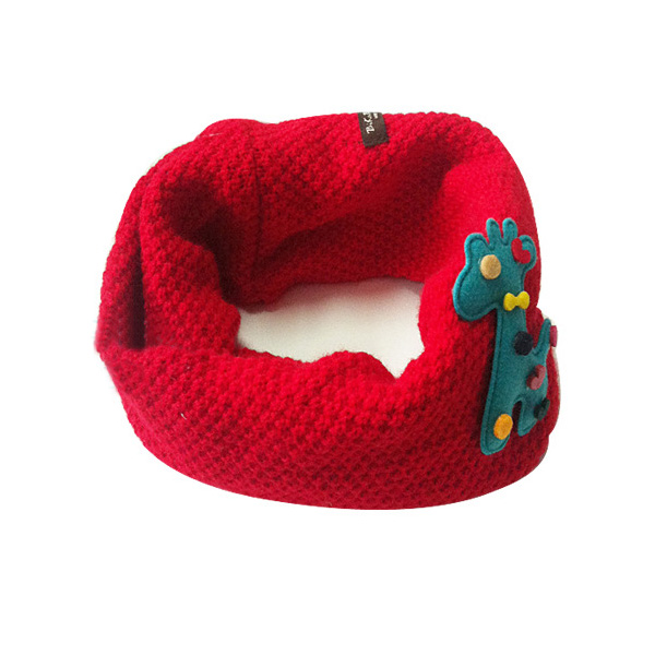 KöStlich Winter Warm Woolen Snood Schal Neugeborenen Kinder Baby Gestrickte Halstuch Schal 2-7y Neue Ankunft In Den Spezifikationen VervollstäNdigen