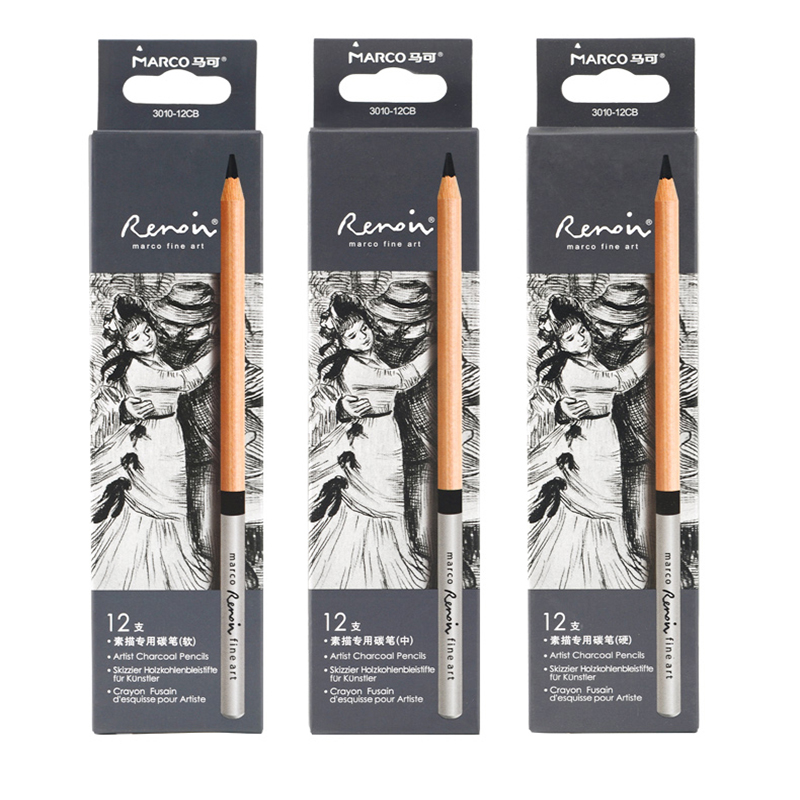 Marco  Professional art Renoir drawing sketch pencil student  3010